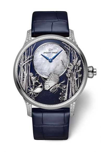 Jaquet Droz Loving Butterfly.