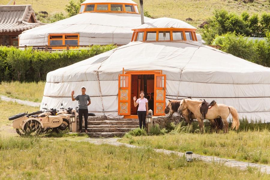 Escapade une pause au bout du monde three Camel lodge