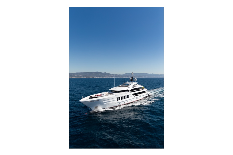 """Heesen """"vida"""" un yacht exemplaire"""