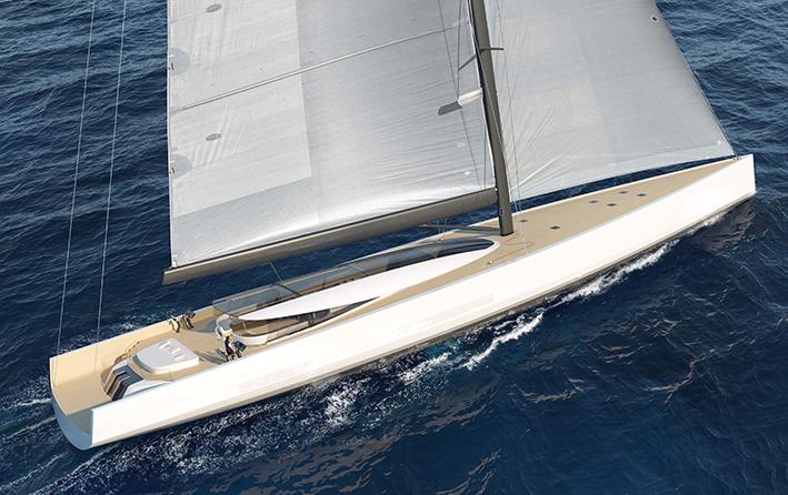 Under sail aft
