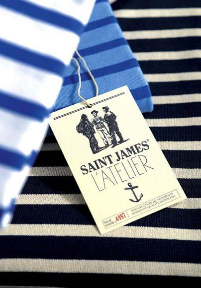 Saint James - Etiquettes de l'Atelier