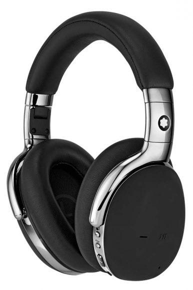Casque Over-ear MB01 noir Réalisé en cuir, il se pare de coussinets confortables et d'une technologie moderne de réduction de bruit active. PPC: 595 €