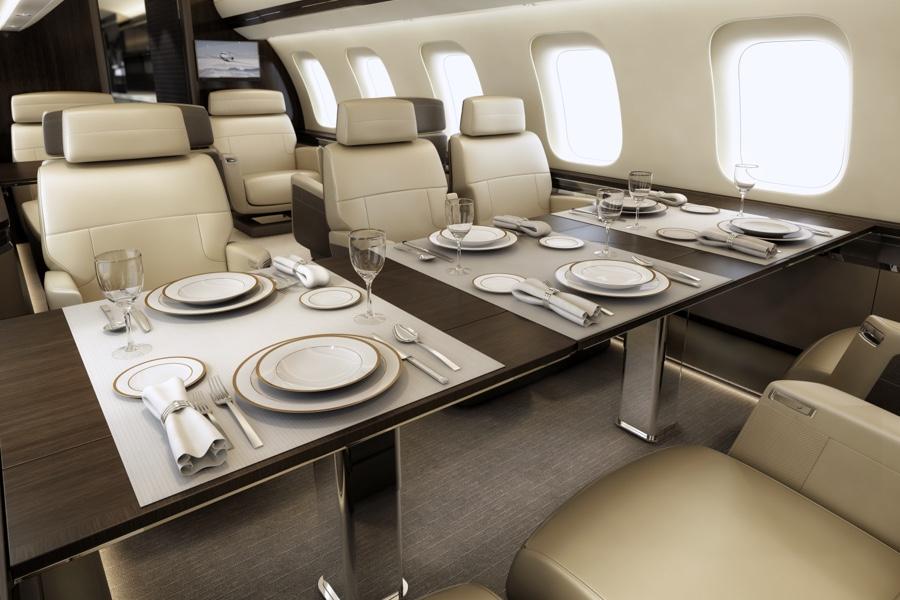 Aviation Luxe Jet Privé Bombardier Global 7500