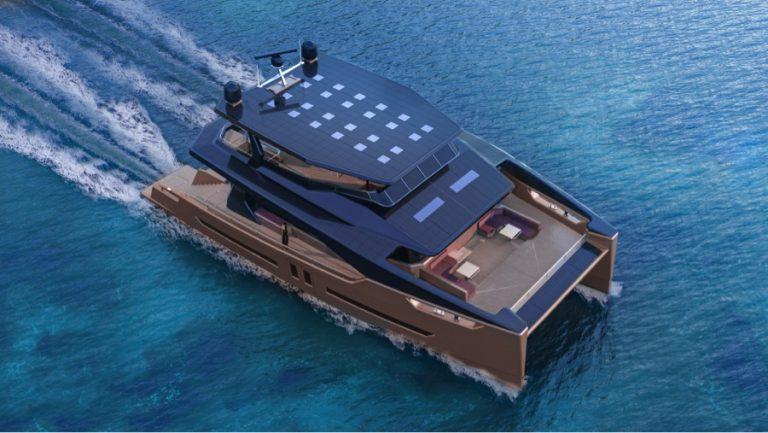 OCEAN ECO 90, le catamaran 100% électrique solaire