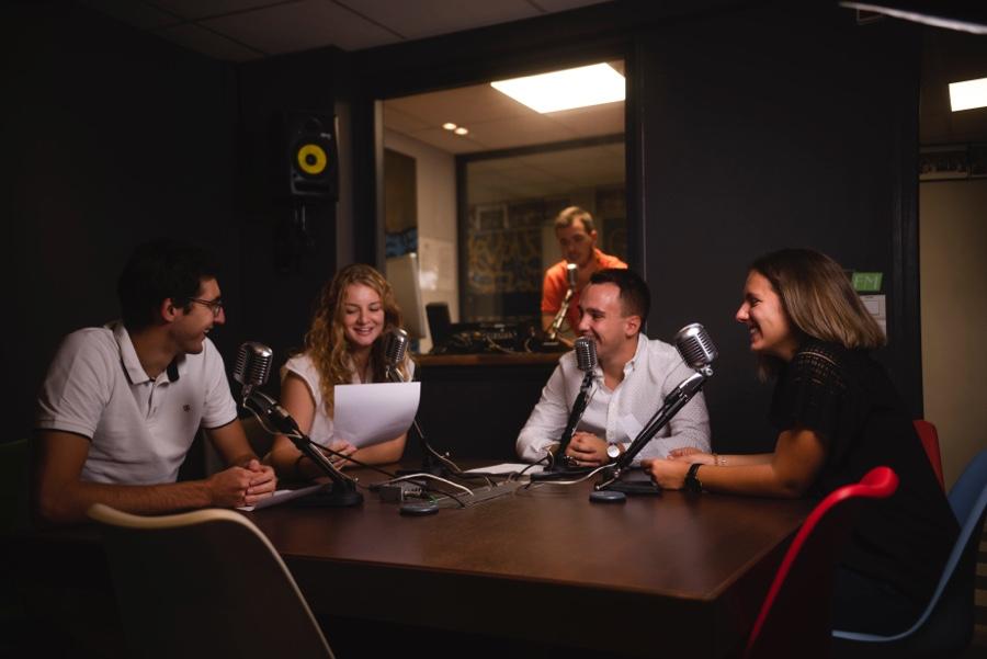 école de journalisme de nice radio étudiant