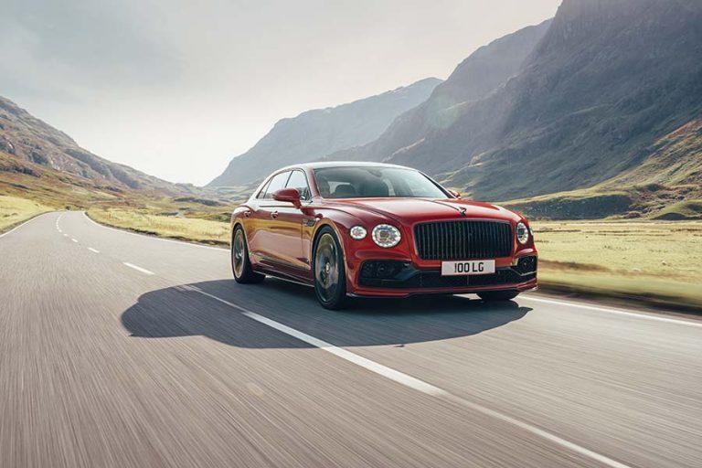 Bentley Flying Spur V8 – Les ailes de l'avenir