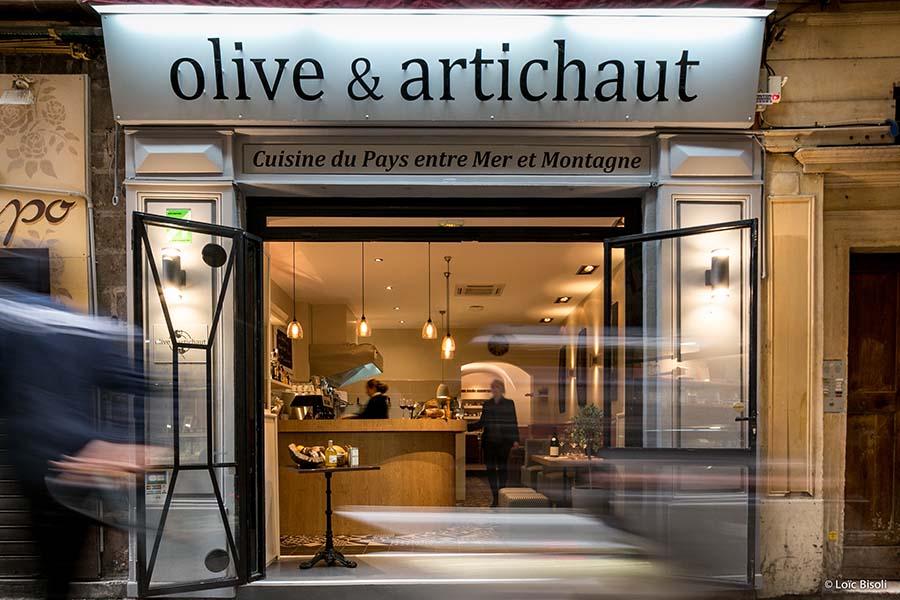 Olive et Artichaut
