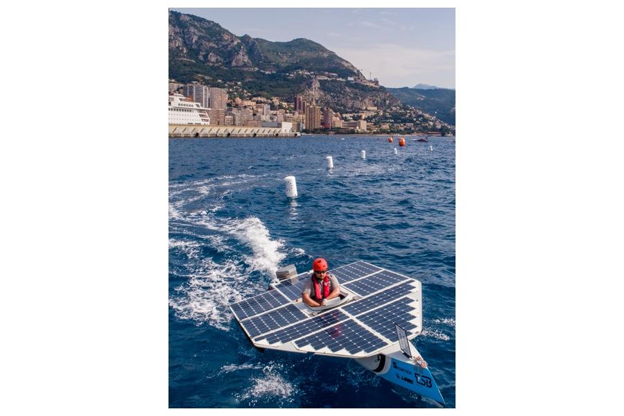 Nautisme Monaco solar energy boat challenge