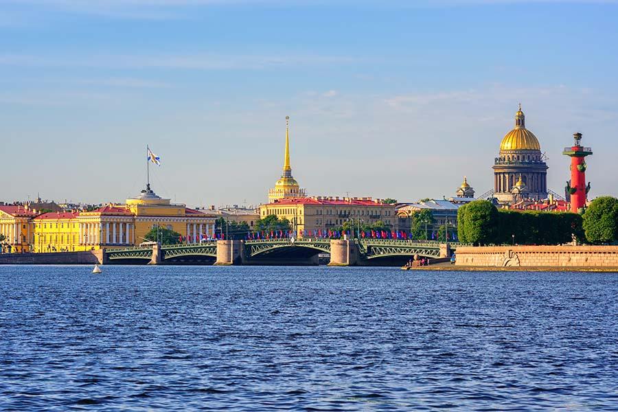 Le pont du Palais - St Petersburg