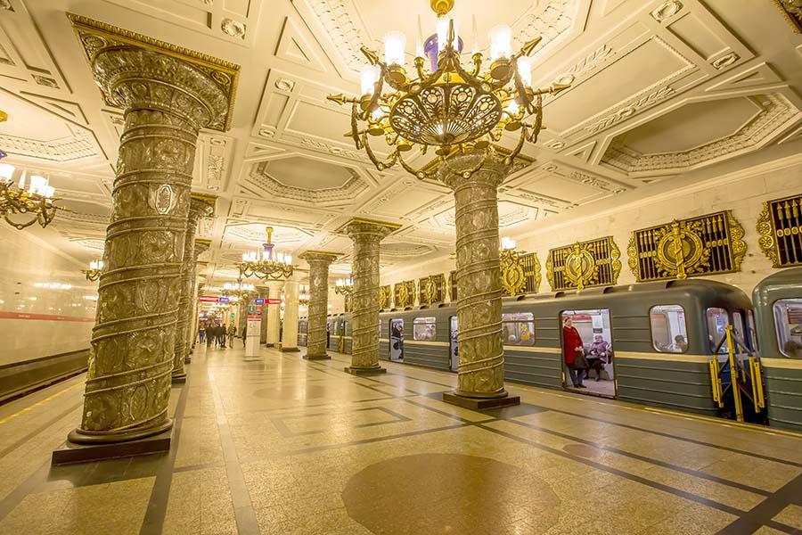 Trends in Riviera Station de métro Avtovo