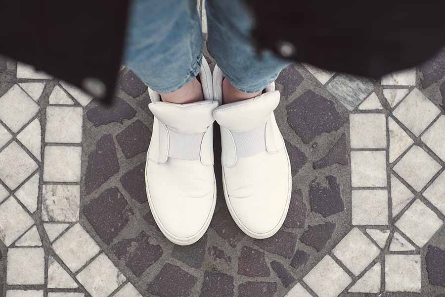Tendance Mode - Chaussures blanches 06