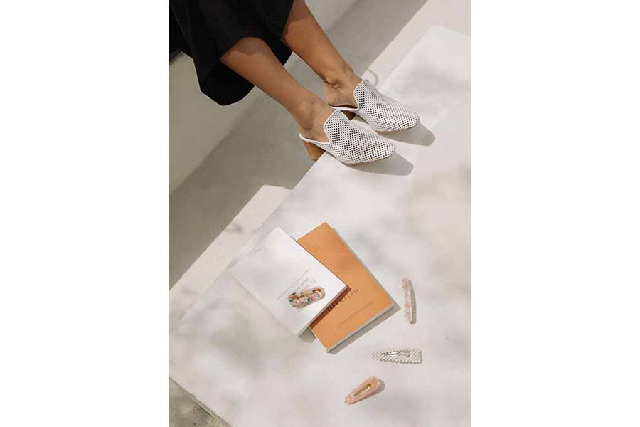 Tendance Mode - Chaussures blanches 03