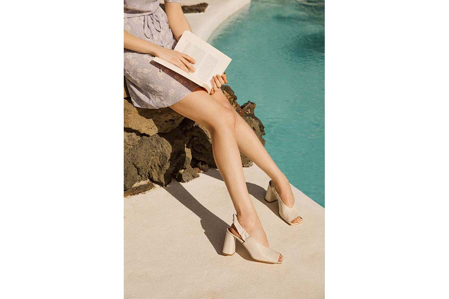 Tendance Mode - Chaussures blanches 05