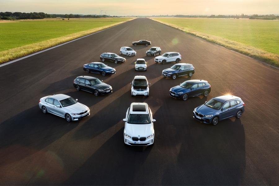 Automobile Electrique Hybride Luxe