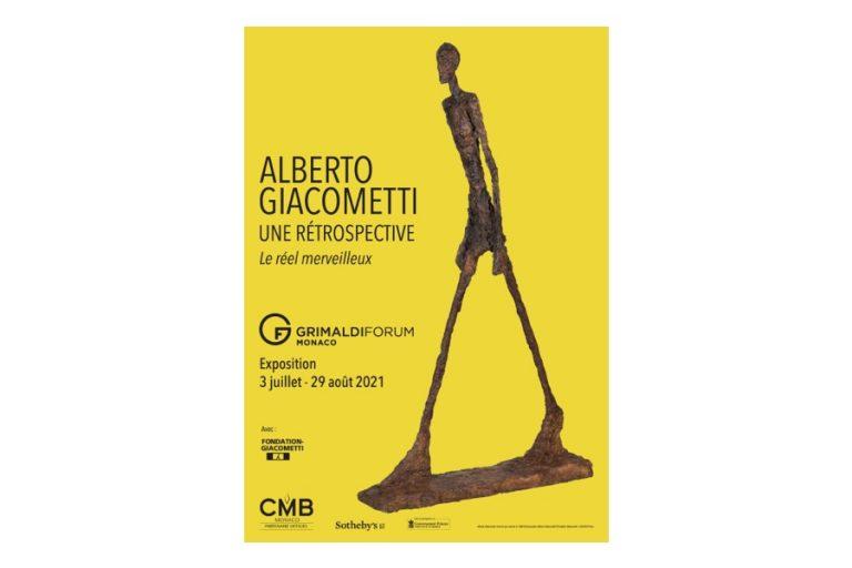 «Alberto Giacometti. Une rétrospective. Le réel merveilleux » Au Grimaldi Forum