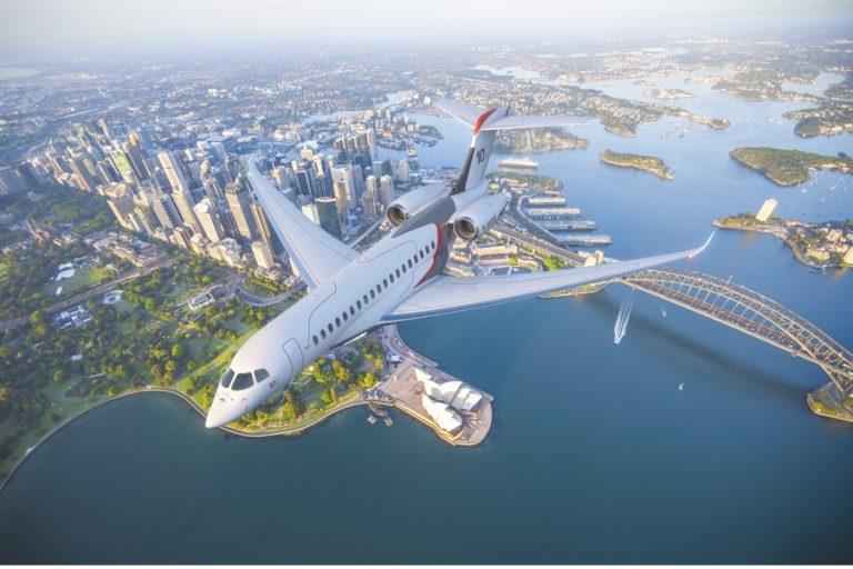 Dassault Aviation lance le Falcon 10X