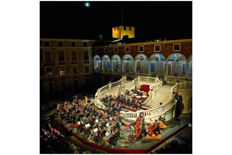 Les concerts au Palais Princier